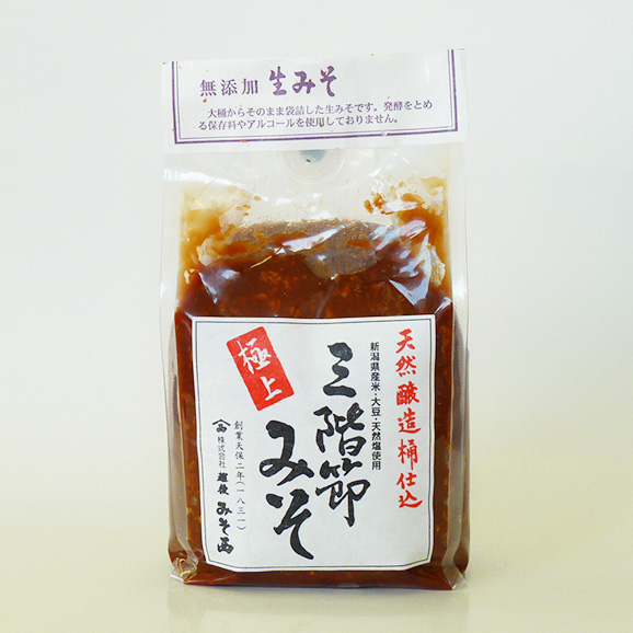 【500g×1袋】三階節極上味噌03
