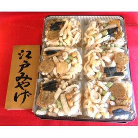 江戸みやげ缶入り(60g x 6袋)
