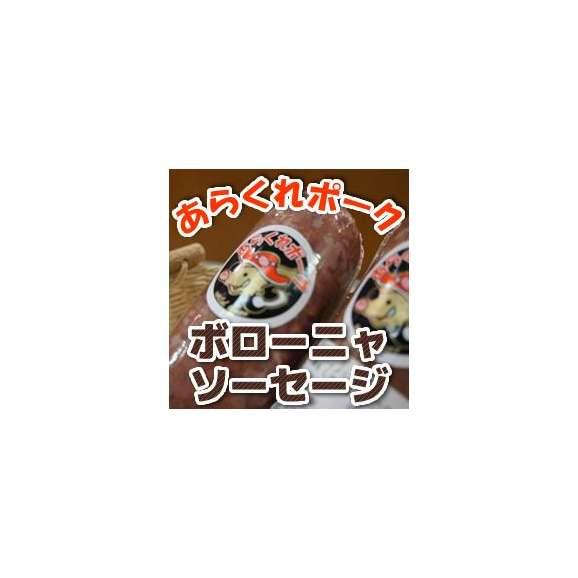 お酒のおつまみに あらくれポーク ボローニャソーセージ(愛媛産 いのしし肉使用)01
