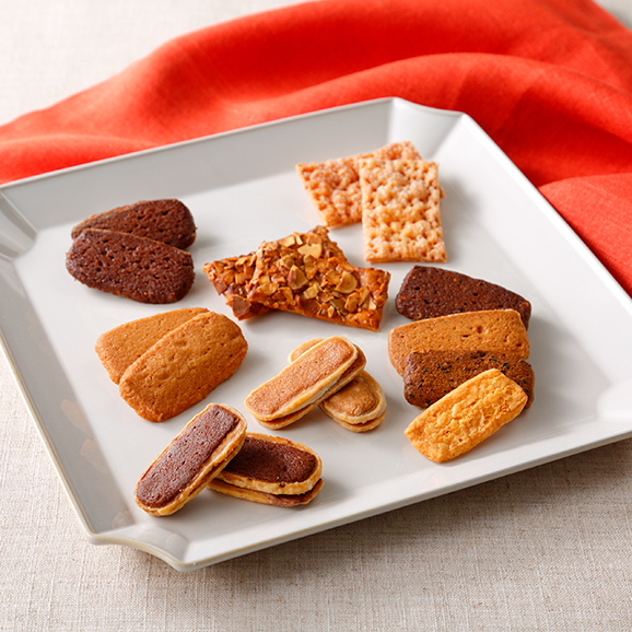 エルベランクッキーとティーフレンドクッキーの詰め合せ(10種入)