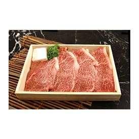 米沢牛 木箱入り 焼肉用 赤身モモ 1kg