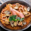 濃厚海老スープで炊く早炊きパエリア【約2人前】