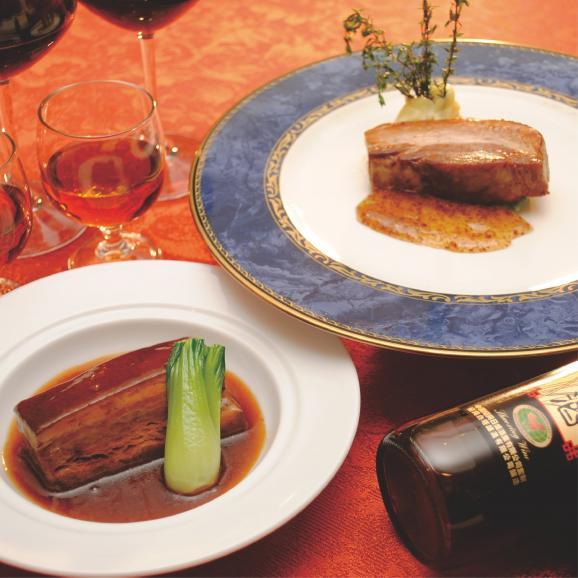 至高の逸品 味くらべ!角煮とアベル黒豚のセット01