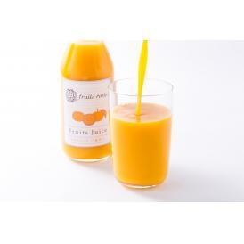国産果汁 100% のストレートジュース