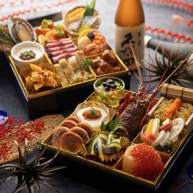 【日本酒と楽しむ】和イタリアン生おせち 和洋二段重「絆」