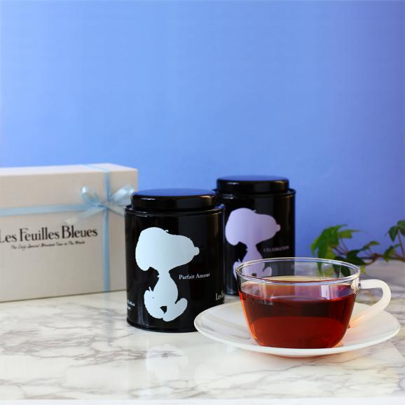 2缶紅茶ギフトボックス Snoopy ver.01