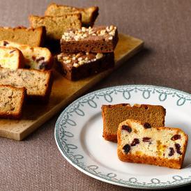 4つのケーキスライスと、とろける食感のブラウニーを詰め合わせた、5つの味が楽しめるアソートです。