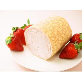 みんな大好きいちごのミルクレープロールはいかがでしょう♪  お口にいちごの香りがひろがります♡♡