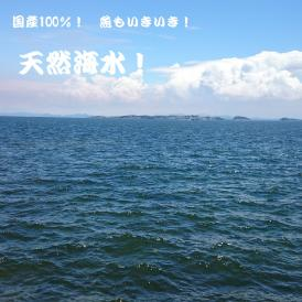 観賞用 国産ブレンド 天然海水 20ℓ 送料無料