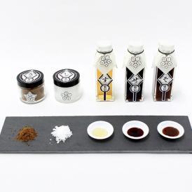 伝統ある5つの東京産調味料を美麗な統一パッケージで実現した新東京土産。