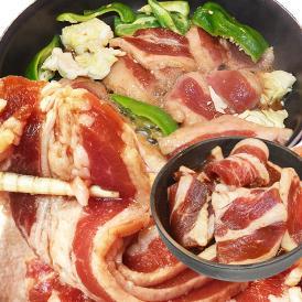 焼肉 バーベキュー BBQ 雪ノ家の漬け旨厚切り牛カルビ大盛800g 2個以上から注文数に応じオマケ付き