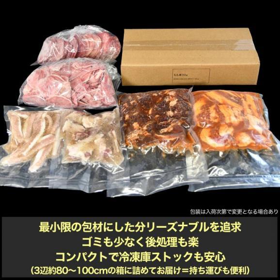 てんこ盛り焼肉セット 5~6人前 [牛タン、カルビ、ハラミ、焼き鳥串など含め7品4kg超] [BBQ バーベキュー]05