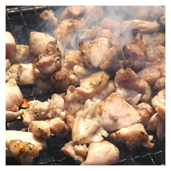送料無料 鶏もも炭火焼き 本場 宮崎名物 100g×2 ポイント消化 お取り寄せ ポッキリ 国産 おつまみ 焼き鳥 地鶏 鶏01