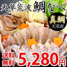 鯛 鯛なべ 真鯛 送料無料 500gセット 3~4人前 熊本天草産 海鮮 ギフト 丸木水産 鮮魚 刺身