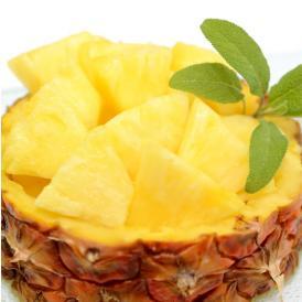 パイナップル パイン グルメパイン 送料無料 2玉(約1.8kg~2kg) フィリピン産 2箱購入で1箱おまけ