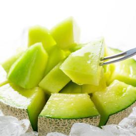 メロン 肥後グリーンメロン 送料無料 1玉 M~3L 熊本県産 肥後グリーン フルーツ お取り寄せ