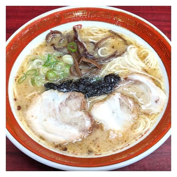 ラーメン 大黒ラーメン 豚骨ラーメン 送料無料 2食 半なま麺 お取り寄せ 熊本ラーメン ご当地ラーメン01