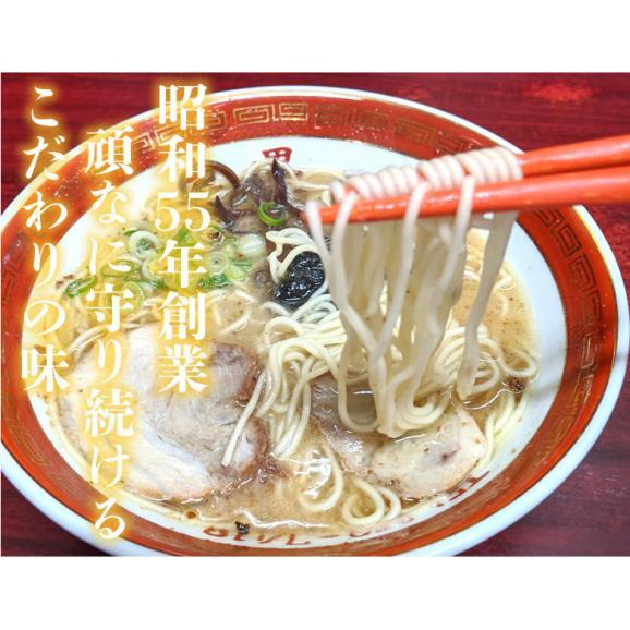 ラーメン 大黒ラーメン 豚骨ラーメン 送料無料 2食 半なま麺 お取り寄せ 熊本ラーメン ご当地ラーメン04