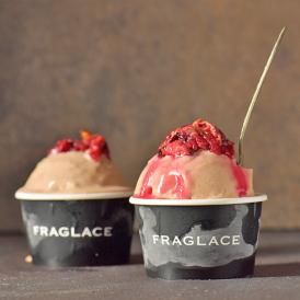 FRAGLACE バラのアイスクリーム 【ローズバニラ】(100ml ×  6カップ入り)