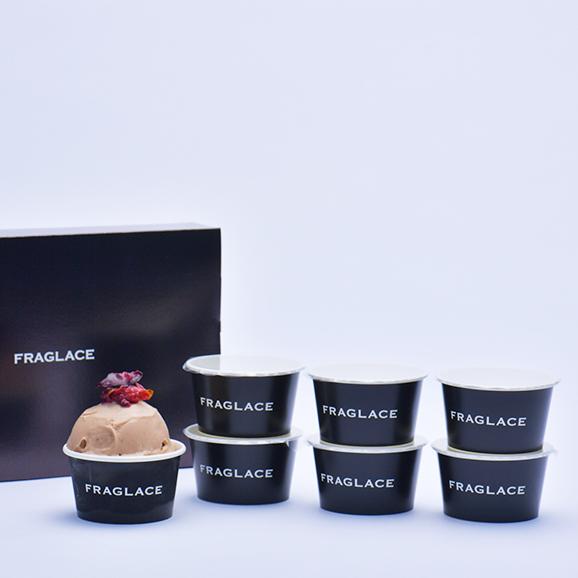 FRAGLACE バラのアイスクリーム 【ローズバニラ】(100ml ×  6カップ入り)02