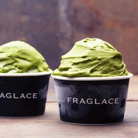 それはまるで、たべる香水。茶の芳香性に満たされる新感覚の「香りをたべるアイスクリーム」です。