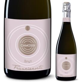 フランチャコルタ ブリュット / カモッシ(イタリア・スパークリングワイン) 750ml