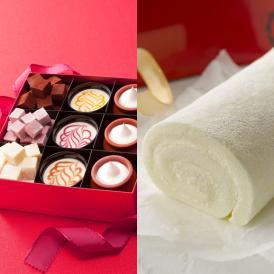 ネット限定スイーツセットと、純白ロールケーキの神戸フランツの豪華スペシャルセット♪