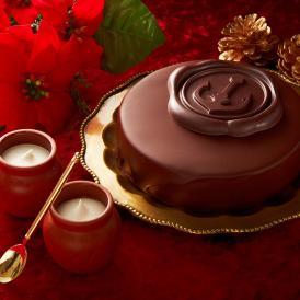 クリスマスケーキ ギフト 魔法の生チョコザッハと壷プリンのセット