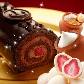 ショコラ×ベリーのプレミアムロール「神戸ザッハロール」と人気スイーツの贅沢セット