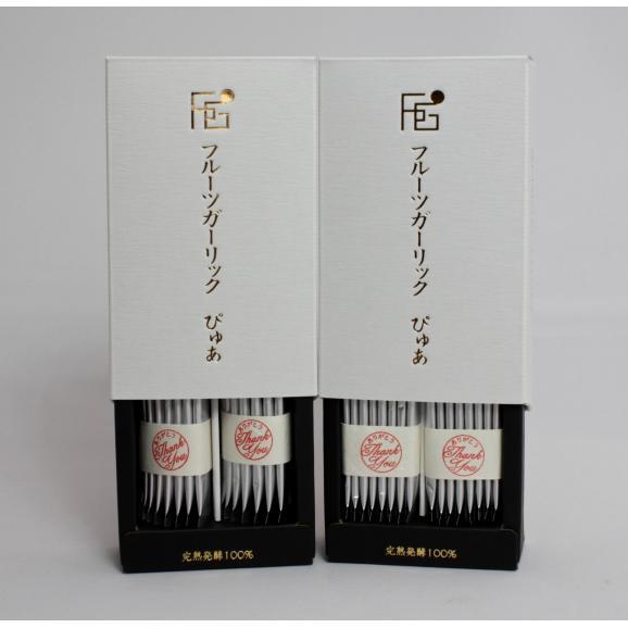 フルーツガーリックぴゅあ 完熟発酵100% 15本入(箱)03