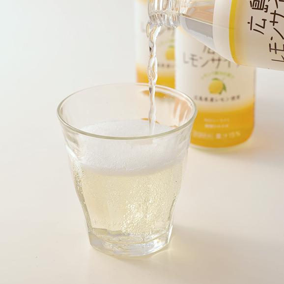 広島レモンサイダー海人の藻塩プラス 【250ml × 24本】03