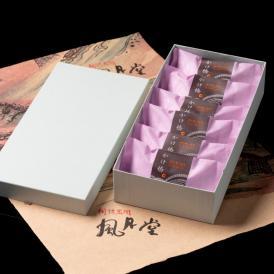 ギフト 創作銘菓 錦帯橋スイーツ かけ橋6個入り ホイル焼き