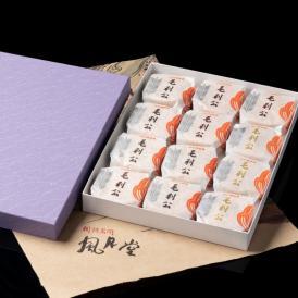 天皇陛下献上銘菓 毛利公 12個入り 最中 和菓子 和菓子 お取り寄せ 絶品