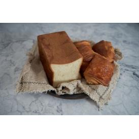 最高峰食パン「ふじ森」1本、クロワッサン、パンオショコラ各3個の詰め合わせ♪ギフトにも!