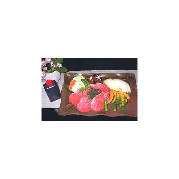三田牛(または特選黒毛和牛)ヘレ肉(焼)セット01