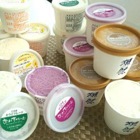 【期間限定】北海道産フルーツアイスクリーム & 獺祭あいす 16個セット