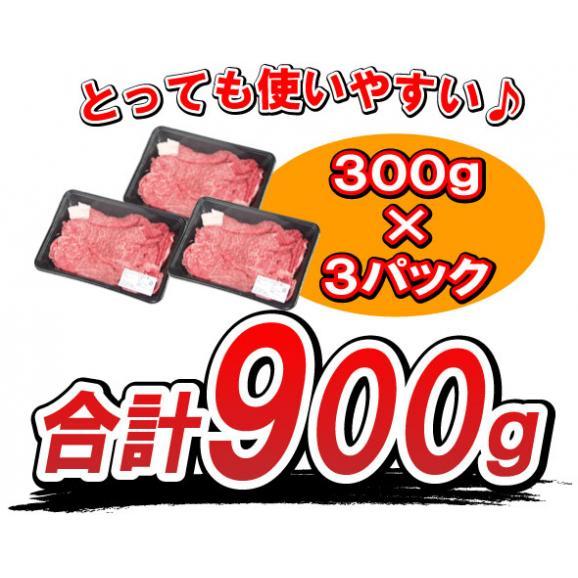 【送料無料】 黒毛和牛ちょっとリッチな切り落とし 900g(300g×3パック)!02