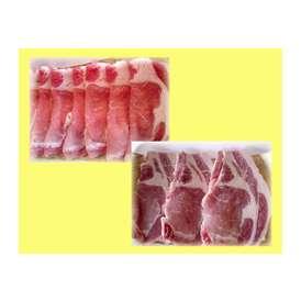 ★幻の純粋黒豚「六白」★ 【ロース】500g しゃぶしゃぶ・ステーキ・とんかつ・焼肉用