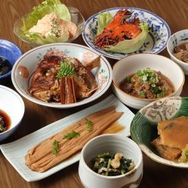 魚料理 牛肉 鶏肉・豚肉 野菜料理をバランスよく取り揃えた10品セット