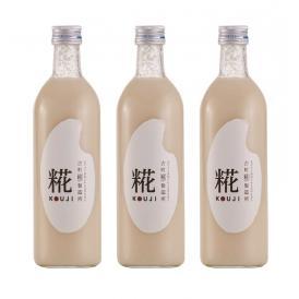 古町糀製造所 糀甘酒お試し3本セット(糀プレーン)
