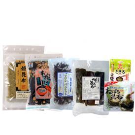 ギフト とろろ昆布 海藻サラダ 真昆布 がごめ昆布 椀種 6種類入った バラエティーギフト
