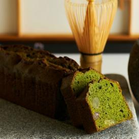 東京抹茶とかのこ豆のパウンドケーキ