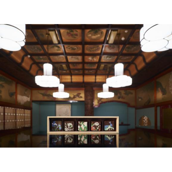 天井画ショコラ「竹林」05