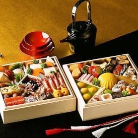 【送料無料】ホテル雅叙園東京のおせち 極上おせちニ段重