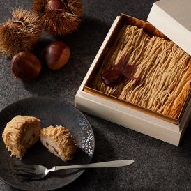 和栗モンブラン専門店「栗りん」のモンブランを、自宅で楽しめる一品。