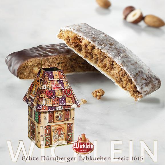 【ヴィックライン】レープクーヘン「お菓子の家」巾着プレゼント付き01