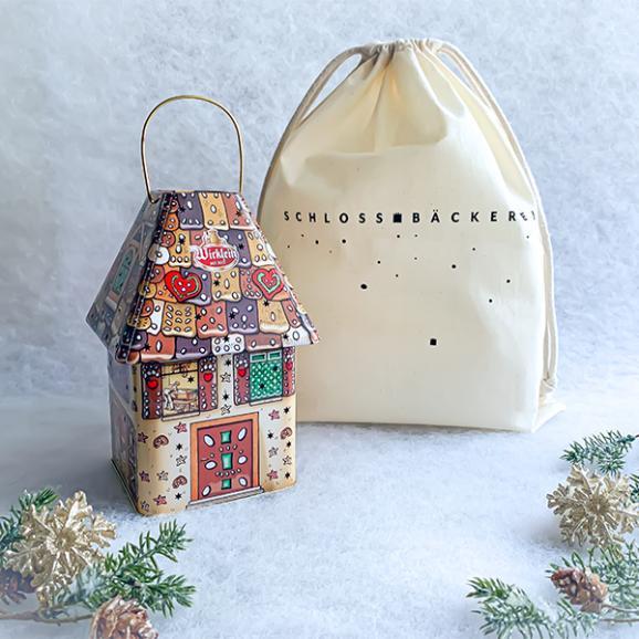 【ヴィックライン】レープクーヘン「お菓子の家」巾着プレゼント付き03