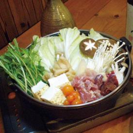 【送料無料】近江しゃもと近江黒鶏の食べ比べすき焼き鍋セット(丁字麩・特製たれ付)