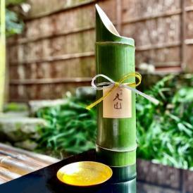 【祇園 丸山】特製青竹酒(金箔入) 500ml