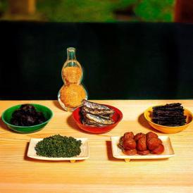 祇園丸山の独自技術で仕上げ、厳選素材にこだわった6種の品々。